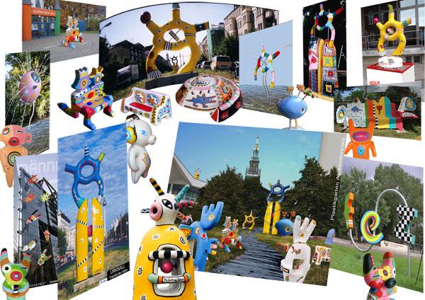 sammelstelle kunst im öffentlichen raum collage