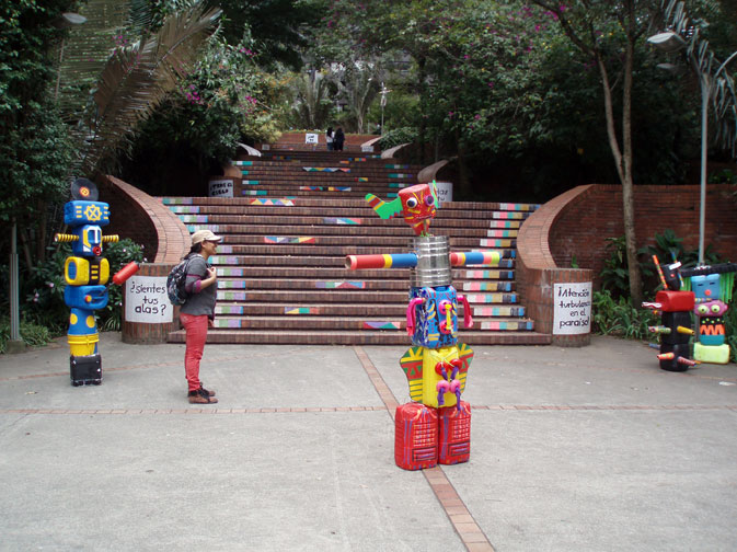 totems and stairs bogota 14