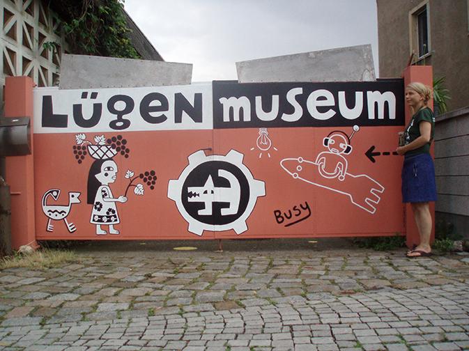Torbemalung 'Lügenmuseum' Radebeul