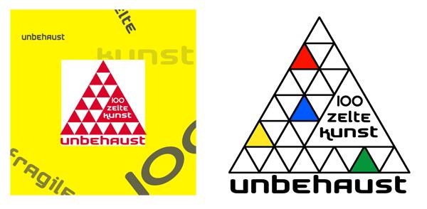 logo plakat 'zelte' projekt