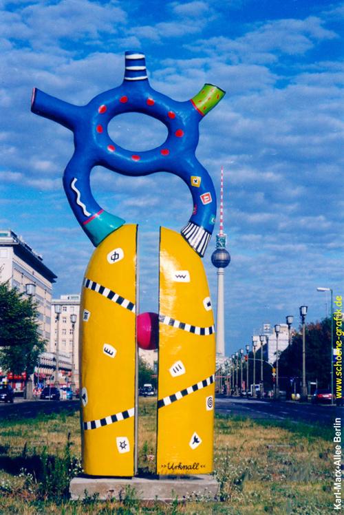 'urknall' karl-marx-allee berlin 2000-04 kunststoff